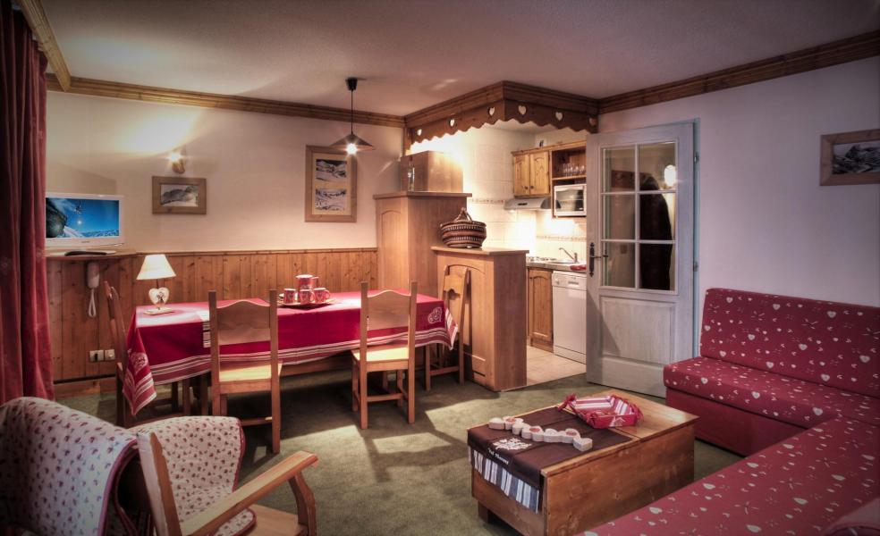 Аренда на лыжном курорте Résidence le Cheval Blanc - Val Thorens - Салон