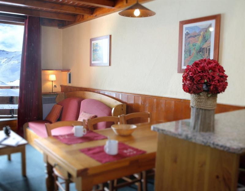 Location au ski Résidence le Cheval Blanc - Val Thorens - Séjour