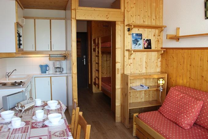 Location au ski Studio 3 personnes (112) - Résidence le Dôme de Polset - Val Thorens