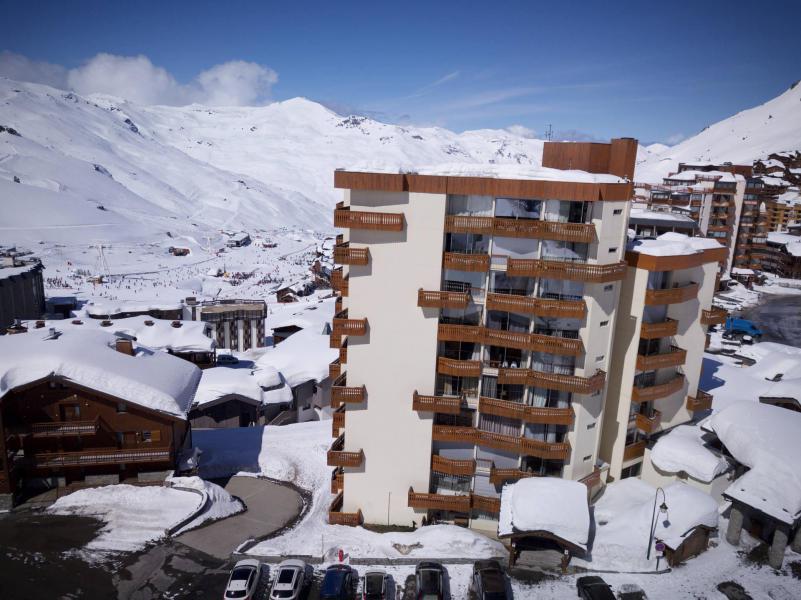 Vacances en montagne Résidence le Dôme de Polset - Val Thorens - Extérieur hiver