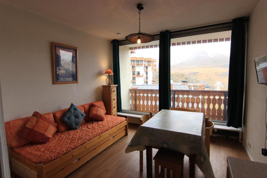 Location au ski Studio 3 personnes (302) - Résidence le Dôme de Polset - Val Thorens - Tv