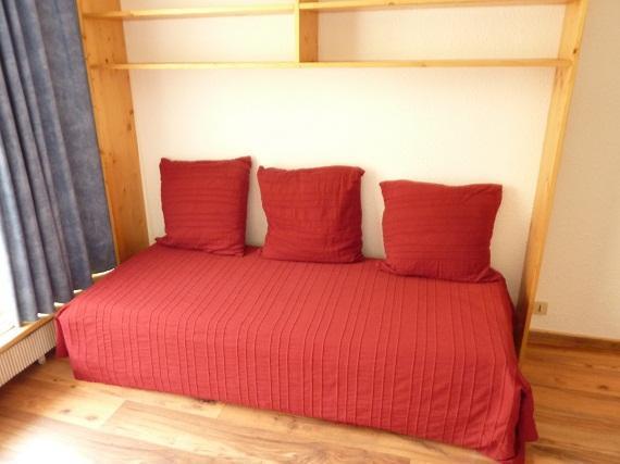 Location au ski Studio 3 personnes (309) - Résidence le Dôme de Polset - Val Thorens - Banquette