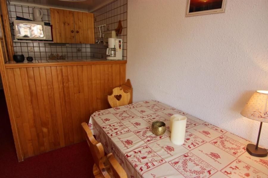 Location au ski Studio 3 personnes (408) - Résidence le Dôme de Polset - Val Thorens - Kitchenette