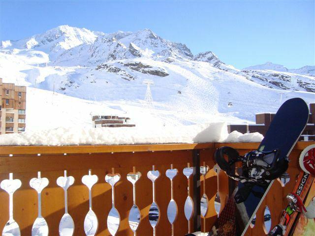 Location au ski Studio 3 personnes (408) - Résidence le Dôme de Polset - Val Thorens - Table