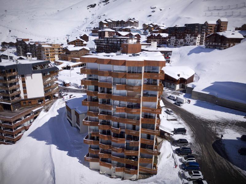 Location au ski Studio 3 personnes (607) - Résidence le Dôme de Polset - Val Thorens - Kitchenette