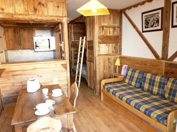 Location au ski Studio 3 personnes (607) - Résidence le Dôme de Polset - Val Thorens - Séjour