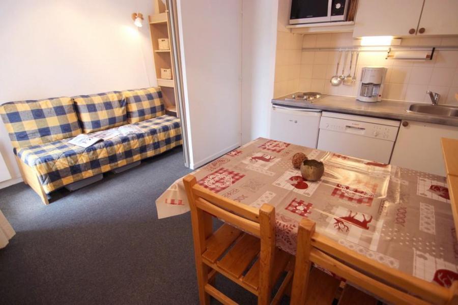 Location au ski Studio 3 personnes (25) - Résidence le Joker - Val Thorens - Canapé