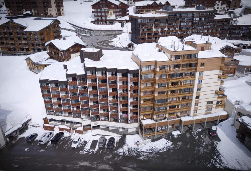 Vacances en montagne Résidence le Lac Blanc - Val Thorens - Extérieur hiver
