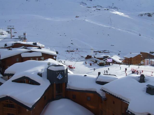 Location au ski Appartement 3 pièces 6 personnes (706) - Résidence le Lac du Lou - Val Thorens - Extérieur hiver