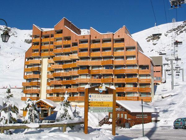 Location au ski Studio 4 personnes (2) - Résidence le Lac du Lou - Val Thorens