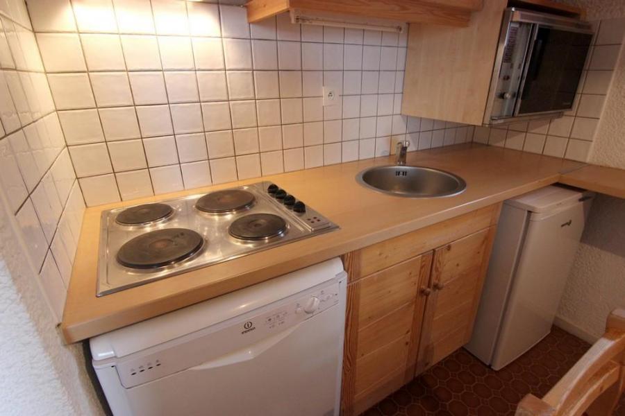 Location au ski Appartement 3 pièces 6 personnes (412) - Résidence le Lac du Lou - Val Thorens - Kitchenette