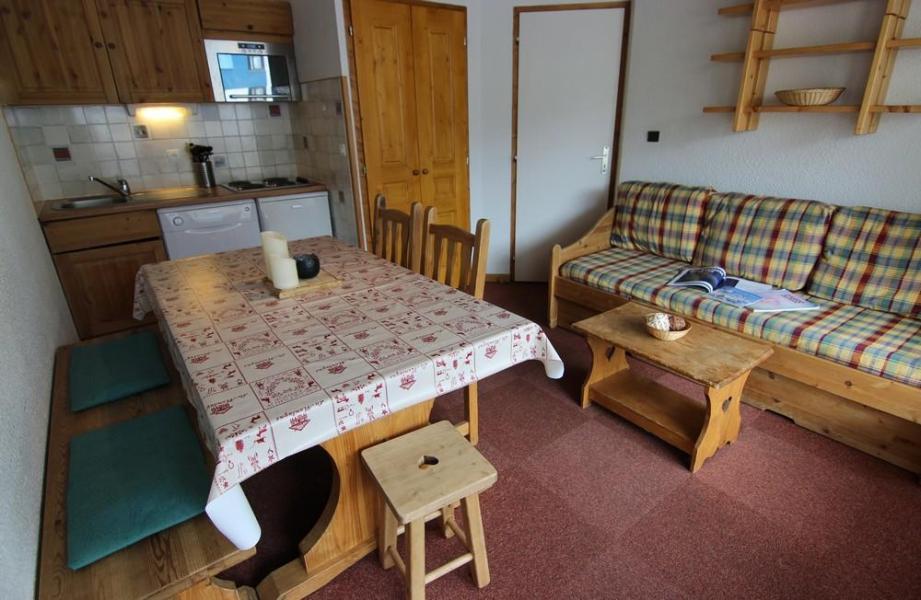 Location au ski Appartement 2 pièces 6 personnes (205) - Résidence le Schuss - Val Thorens