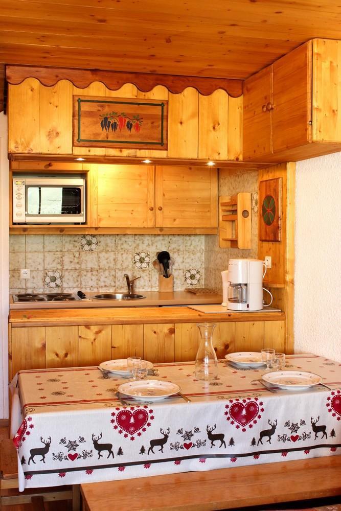 Location au ski Studio cabine 4 personnes (J4) - Résidence le Sérac - Val Thorens
