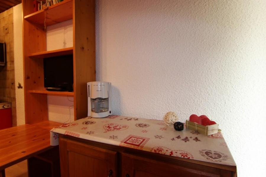 Location au ski Studio 2 personnes (B9) - Résidence le Sérac - Val Thorens - Kitchenette