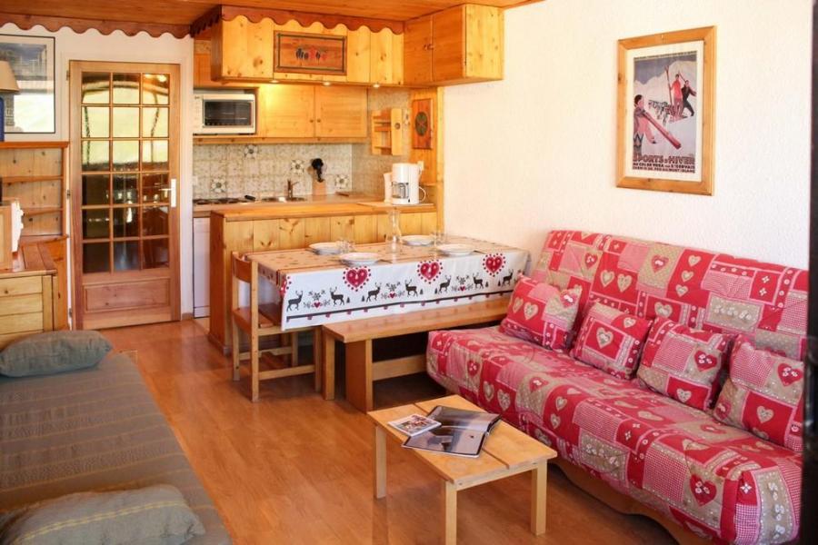 Location au ski Studio cabine 4 personnes (J4) - Résidence le Sérac - Val Thorens - Kitchenette