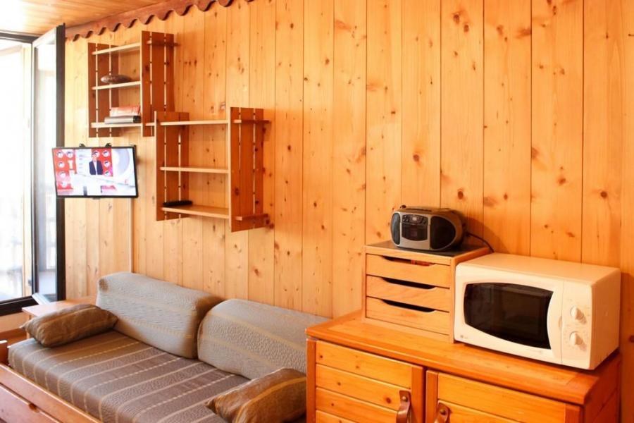 Location au ski Studio cabine 4 personnes (J4) - Résidence le Sérac - Val Thorens - Lavabo
