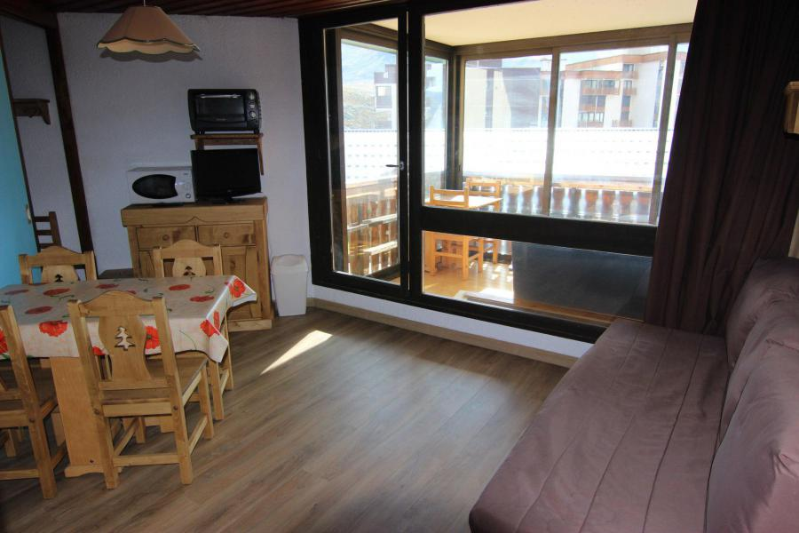 Location au ski Studio cabine 4 personnes (N2) - Résidence le Sérac - Val Thorens - Kitchenette