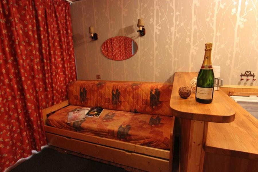 Skiverleih Studio für 3 Personen (P2) - Résidence le Sérac - Val Thorens - Wohnzimmer