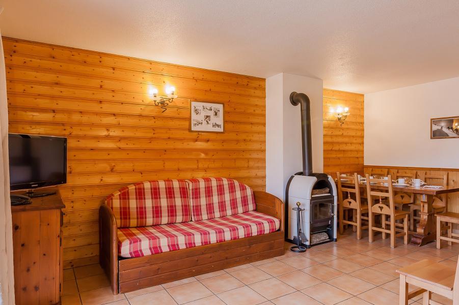 Location au ski Résidence le Val Chavière - Val Thorens - Banquette-lit