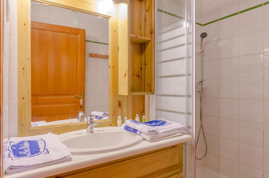 Alquiler al esquí Résidence le Val Chavière - Val Thorens - Cuarto de baño con ducha