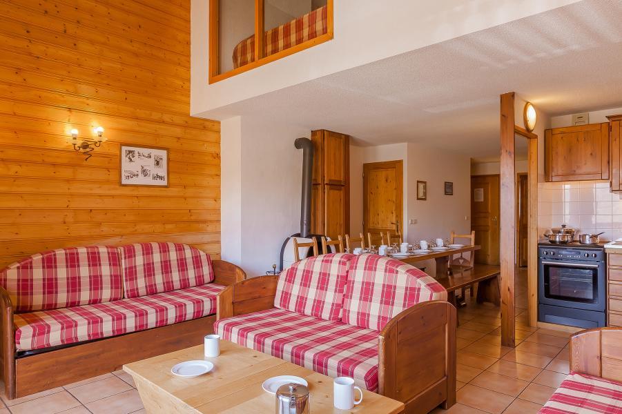 Alquiler al esquí Résidence le Val Chavière - Val Thorens - Salón