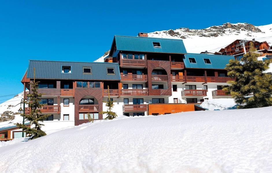 Location au ski Résidence le Valset - Val Thorens - Extérieur hiver