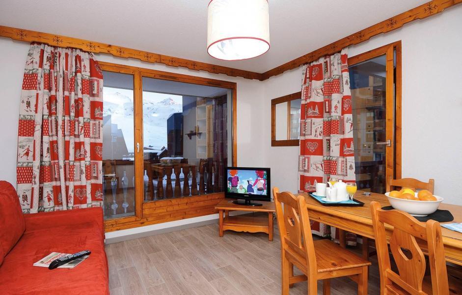 Location au ski Résidence le Valset - Val Thorens - Séjour