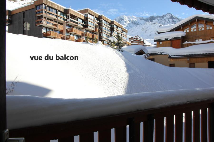 Location au ski Studio 4 personnes (314) - Résidence les Hauts de la Vanoise - Val Thorens