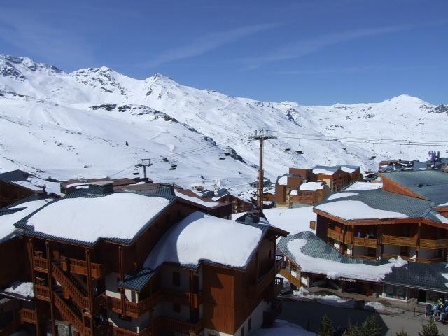Location au ski Studio 3 personnes (604) - Résidence les Hauts de Vanoise - Val Thorens - Extérieur hiver