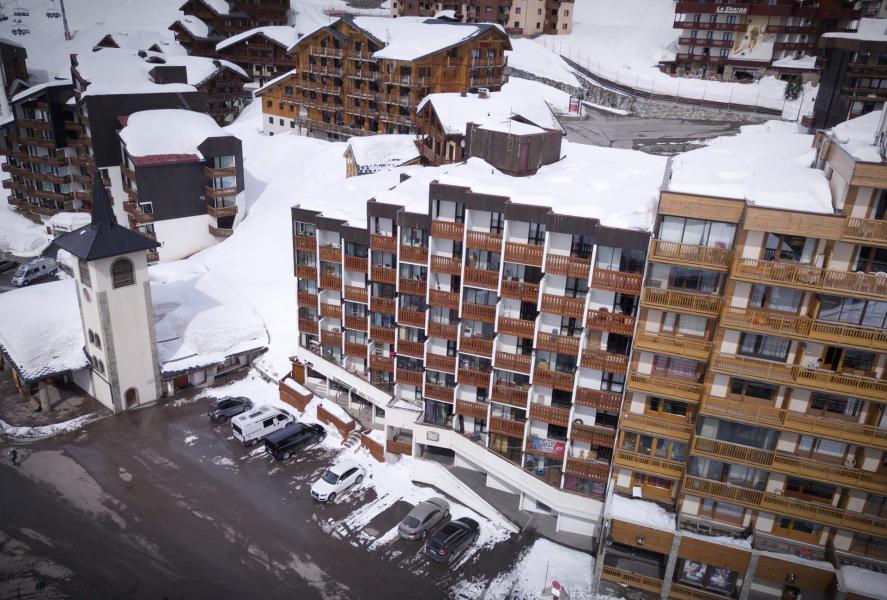 Location au ski Résidence les Hauts de Vanoise - Val Thorens - Extérieur hiver