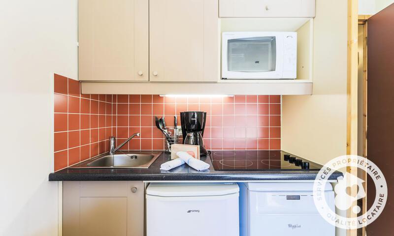 Wynajem na narty Apartament 2 pokojowy 5 osób (Confort 33m²-3) - Résidence les Temples du Soleil - Maeva Home - Val Thorens - Zima na zewnątrz