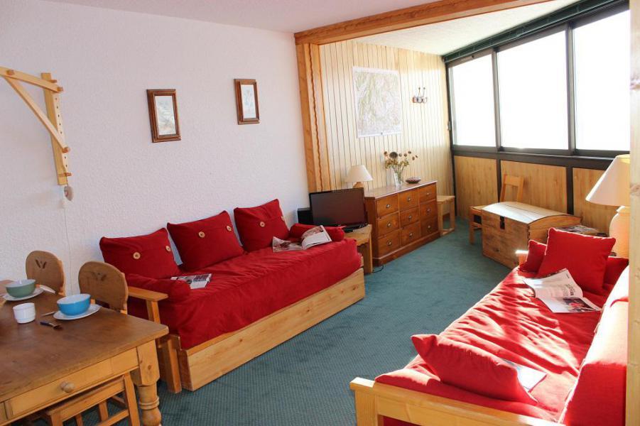 Skiverleih 2-Zimmer-Appartment für 4 Personen (609) - Résidence les Trois Vallées - Val Thorens - Sofa