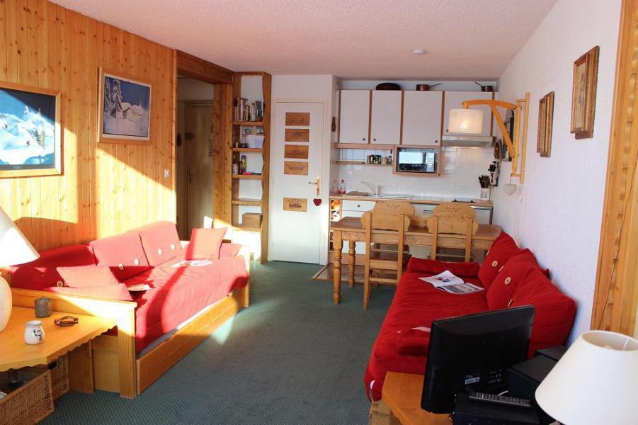 Skiverleih 2-Zimmer-Appartment für 4 Personen (609) - Résidence les Trois Vallées - Val Thorens - Wohnzimmer