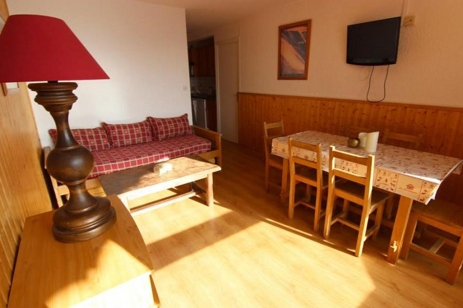 Skiverleih 2-Zimmer-Holzhütte für 6 Personen (905) - Résidence les Trois Vallées - Val Thorens - Sofa