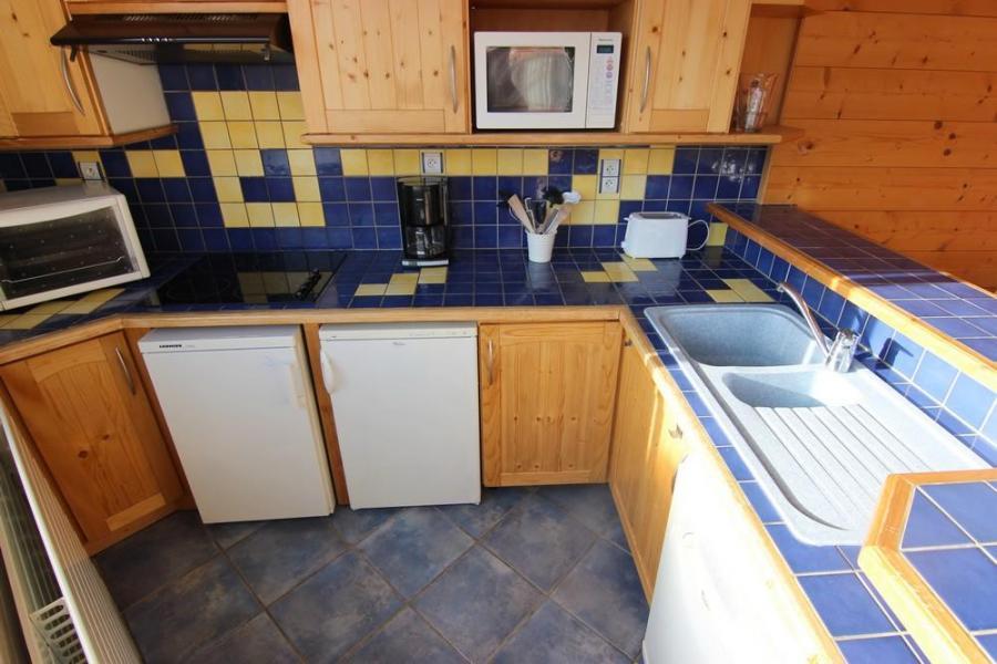 Skiverleih 3-Zimmer-Appartment für 5 Personen (805) - Résidence les Trois Vallées - Val Thorens - Waschbecken