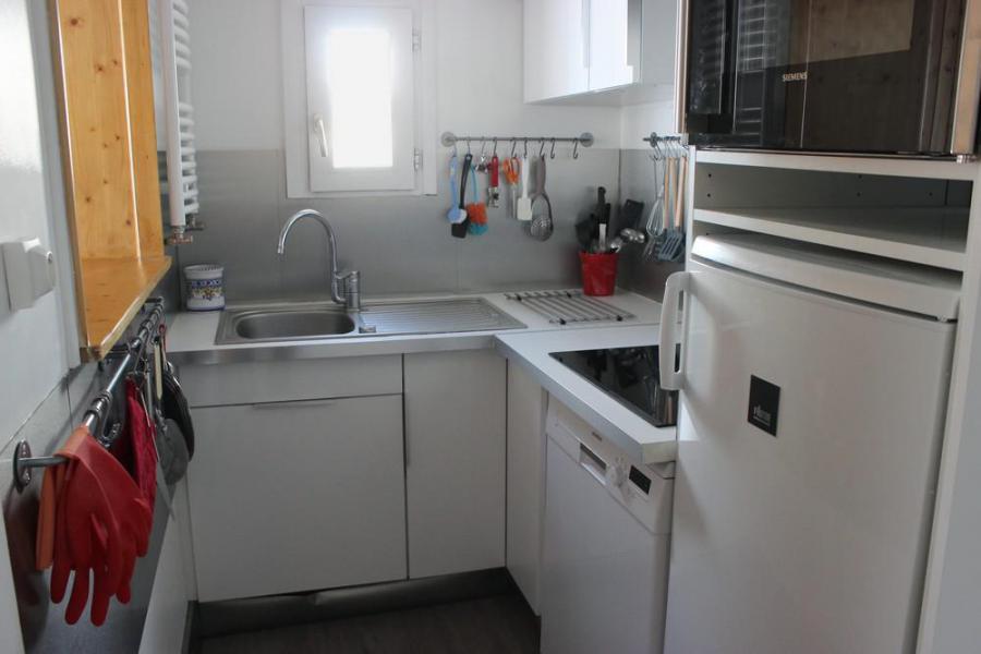 Skiverleih 3-Zimmer-Holzhütte für 6 Personen (703) - Résidence les Trois Vallées - Val Thorens - Kochnische