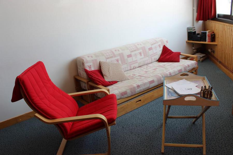 Skiverleih 3-Zimmer-Holzhütte für 6 Personen (703) - Résidence les Trois Vallées - Val Thorens - Sofa