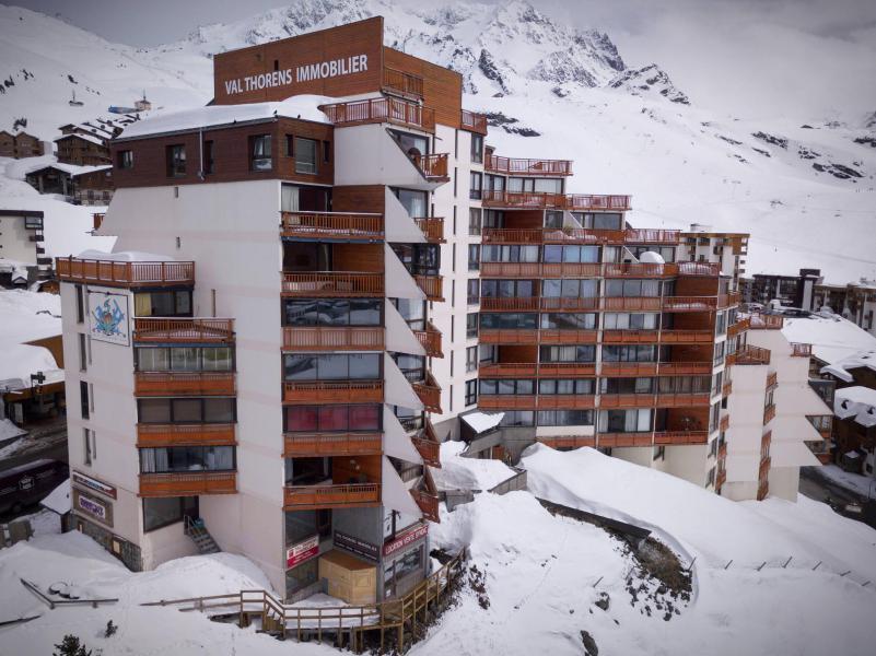 Skiverleih Résidence les Trois Vallées - Val Thorens - Draußen im Winter