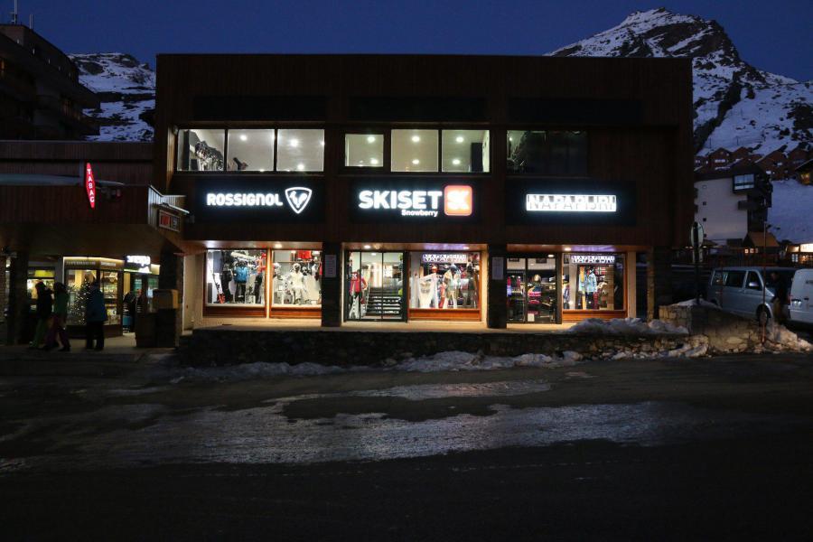 Location au ski Résidence les Trois Vallées - Val Thorens - Extérieur hiver