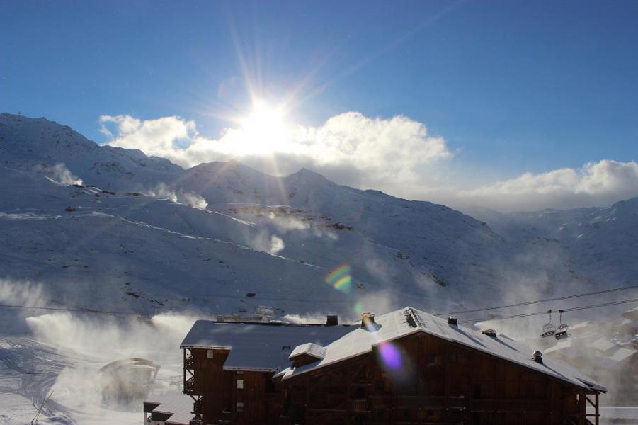 Vacances en montagne Appartement 2 pièces 4 personnes (609) - Résidence les Trois Vallées - Val Thorens - Extérieur hiver