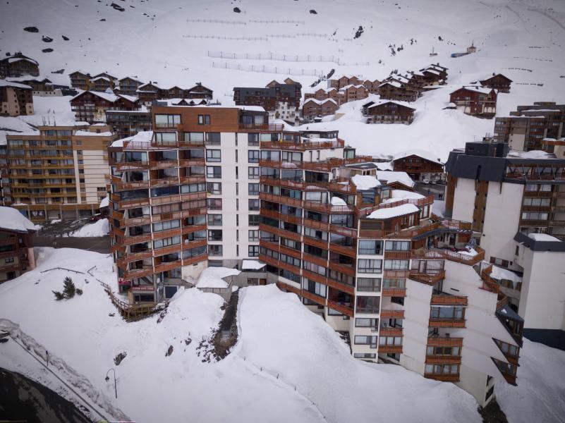 Location au ski Appartement 2 pièces cabine 6 personnes (1003) - Résidence les Trois Vallées - Val Thorens - Lits gigognes