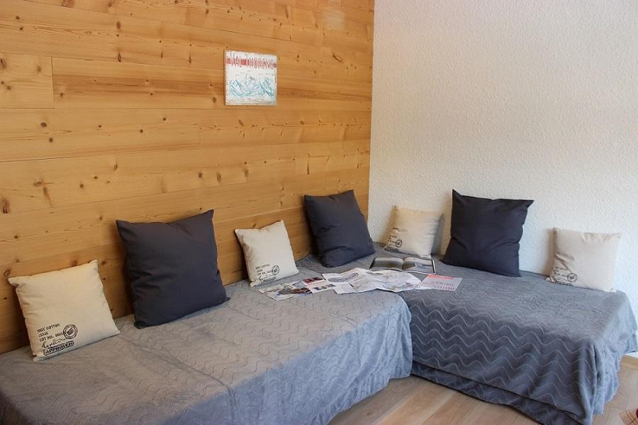 Location au ski Studio 2 personnes (402) - Résidence les Trois Vallées - Val Thorens - Canapé