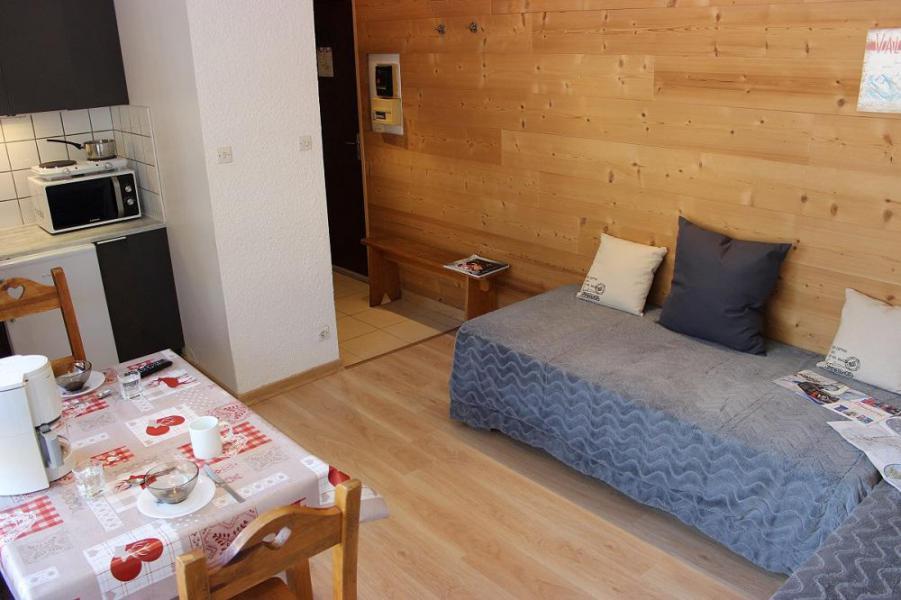 Location au ski Studio 2 personnes (402) - Résidence les Trois Vallées - Val Thorens - Lavabo