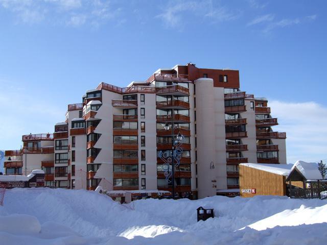 Location au ski Studio 3 personnes (802) - Résidence les Trois Vallées - Val Thorens - Séjour