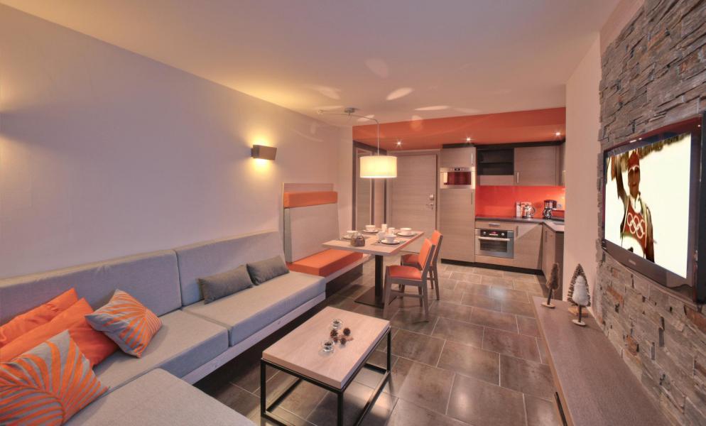 Skiverleih 3-Zimmer-Appartment für 4 Personen - Résidence Montana Plein Sud - Val Thorens - Appartement