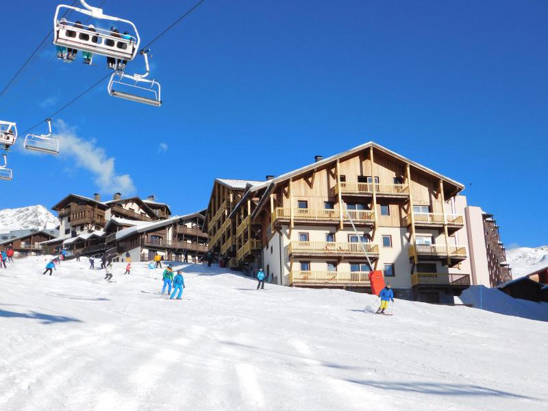 Alquiler al esquí Résidence Montana Plein Sud - Val Thorens - Invierno