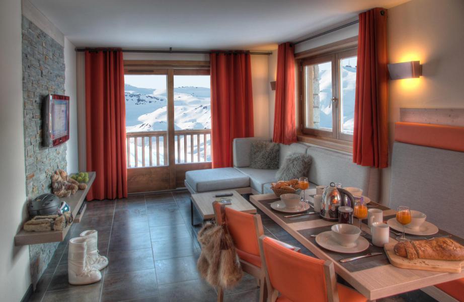 Wynajem na narty Apartament 3 pokojowy 4 osób - Résidence Montana Plein Sud - Val Thorens - Apartament
