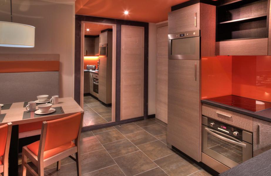 Wynajem na narty Apartament 4 pokojowy 6 osób - Résidence Montana Plein Sud - Val Thorens - Apartament