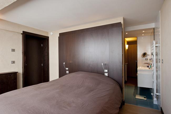 Location au ski Appartement 3 pièces cabine 6 personnes (198) - Résidence Névés - Val Thorens - Chambre