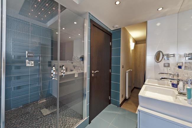 Location au ski Appartement 3 pièces cabine 6 personnes (198) - Résidence Névés - Val Thorens - Salle d'eau